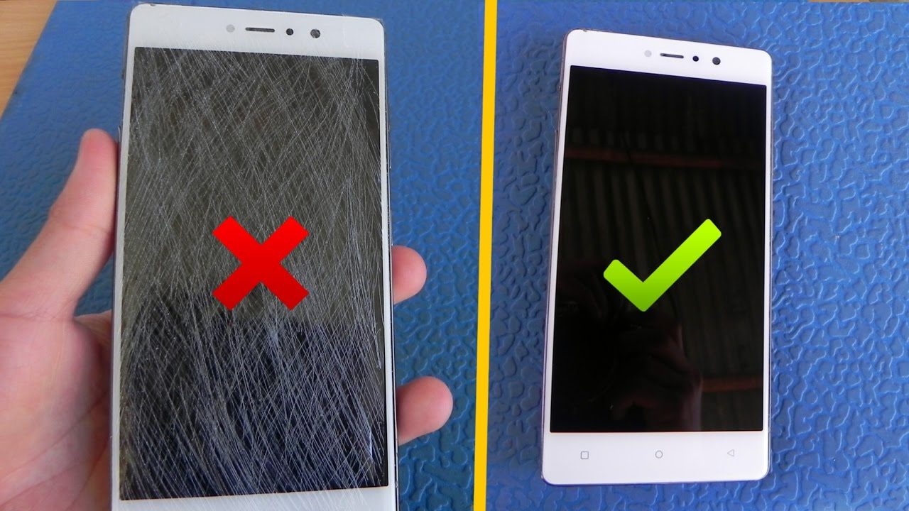Motorola Droid Razr screen scratches repair